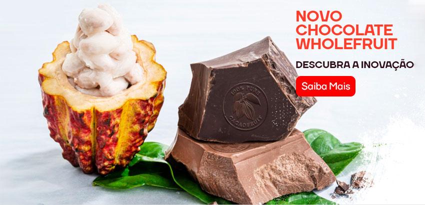 Banner de lançamento Barry Callebaut Chocolates